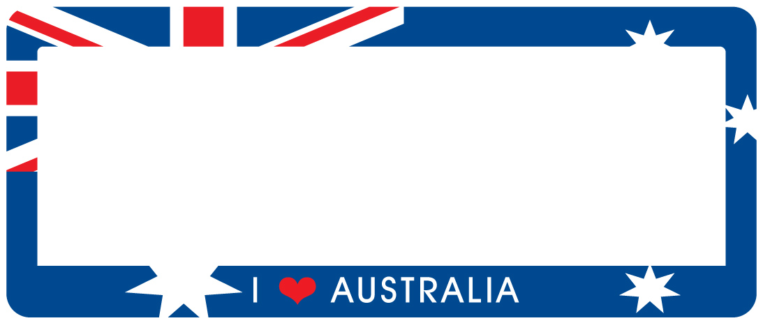 Number Plate Frames for Cars & Bikes - Australian Made Number Plate ...