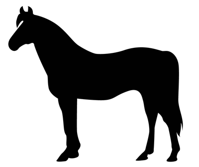 Horse 2 Decal