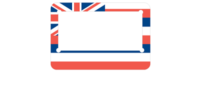 Hawaiian Flag Customise - MC