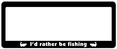Rather Be Fishing - Standard