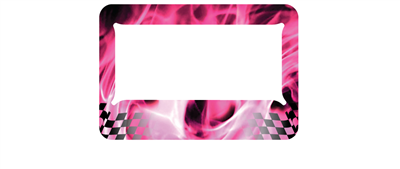 Pink Chequered Flame - MC