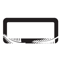 NZ Silver Fern Frame - WA MC